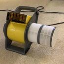 High-throughput HEPA Air Purifier