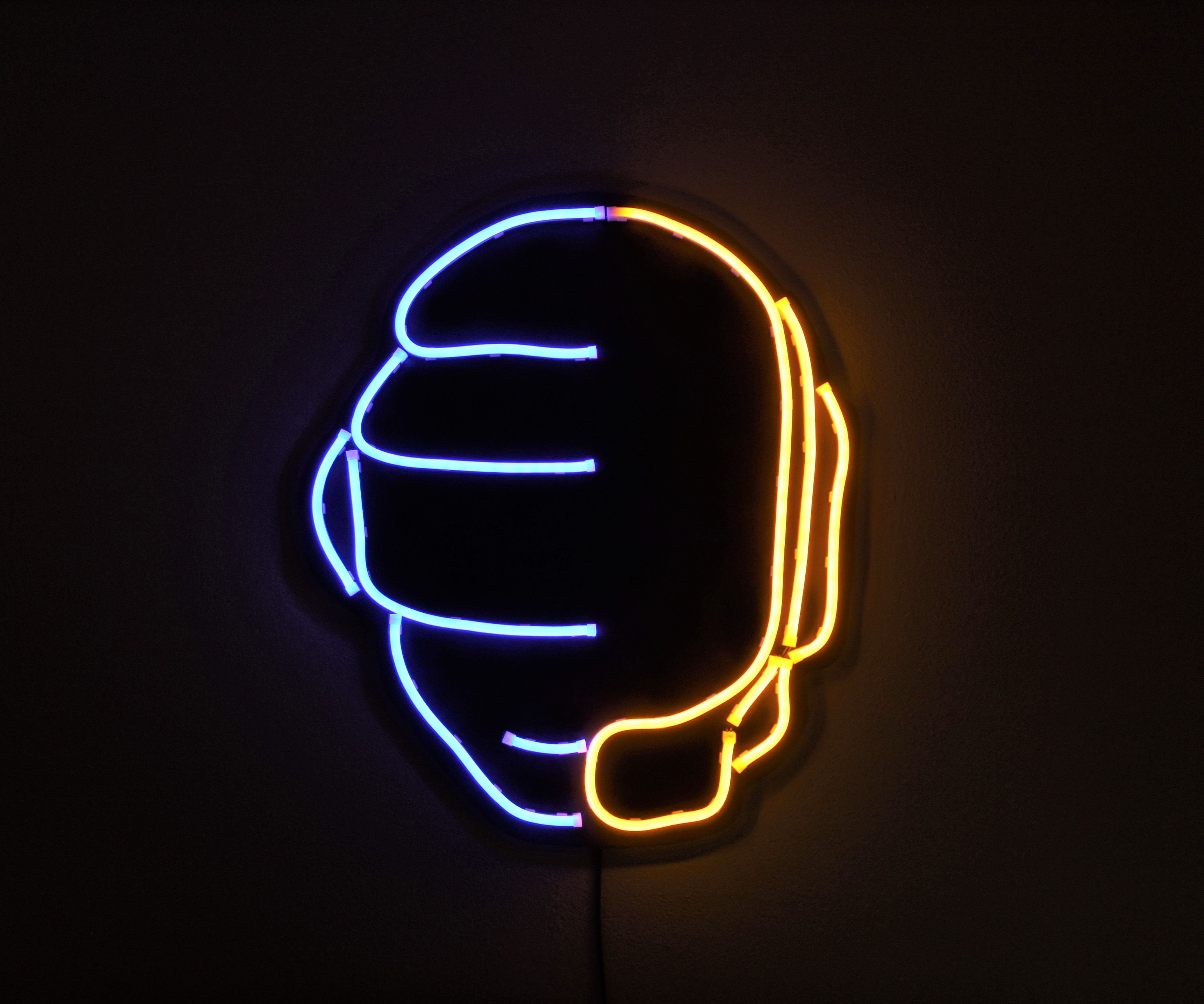 DIY Led Neon Sign - Daft Punk