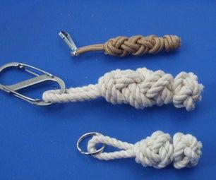 2 Bight Turk's Head Knot