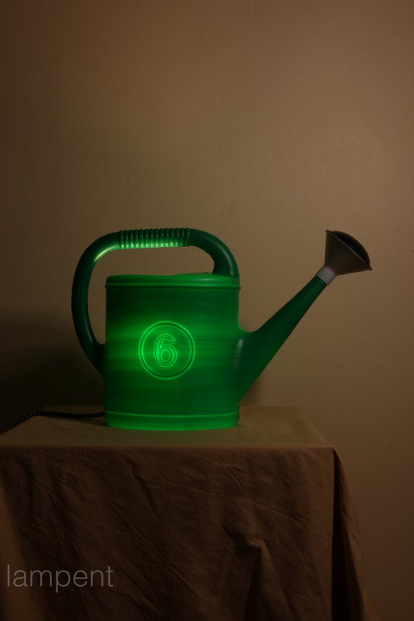 The Watering Pot-lamp.