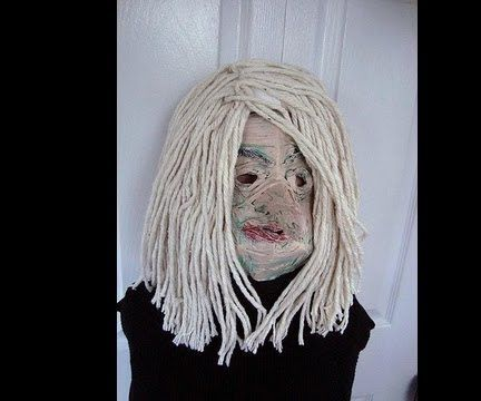 DECRIPIT OLD WITCH MASK