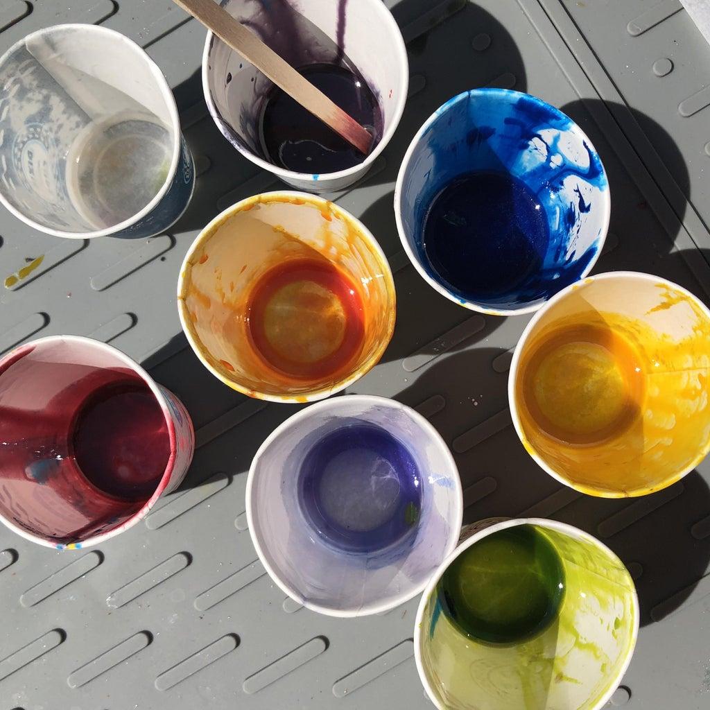 Secondary Transparent Colors