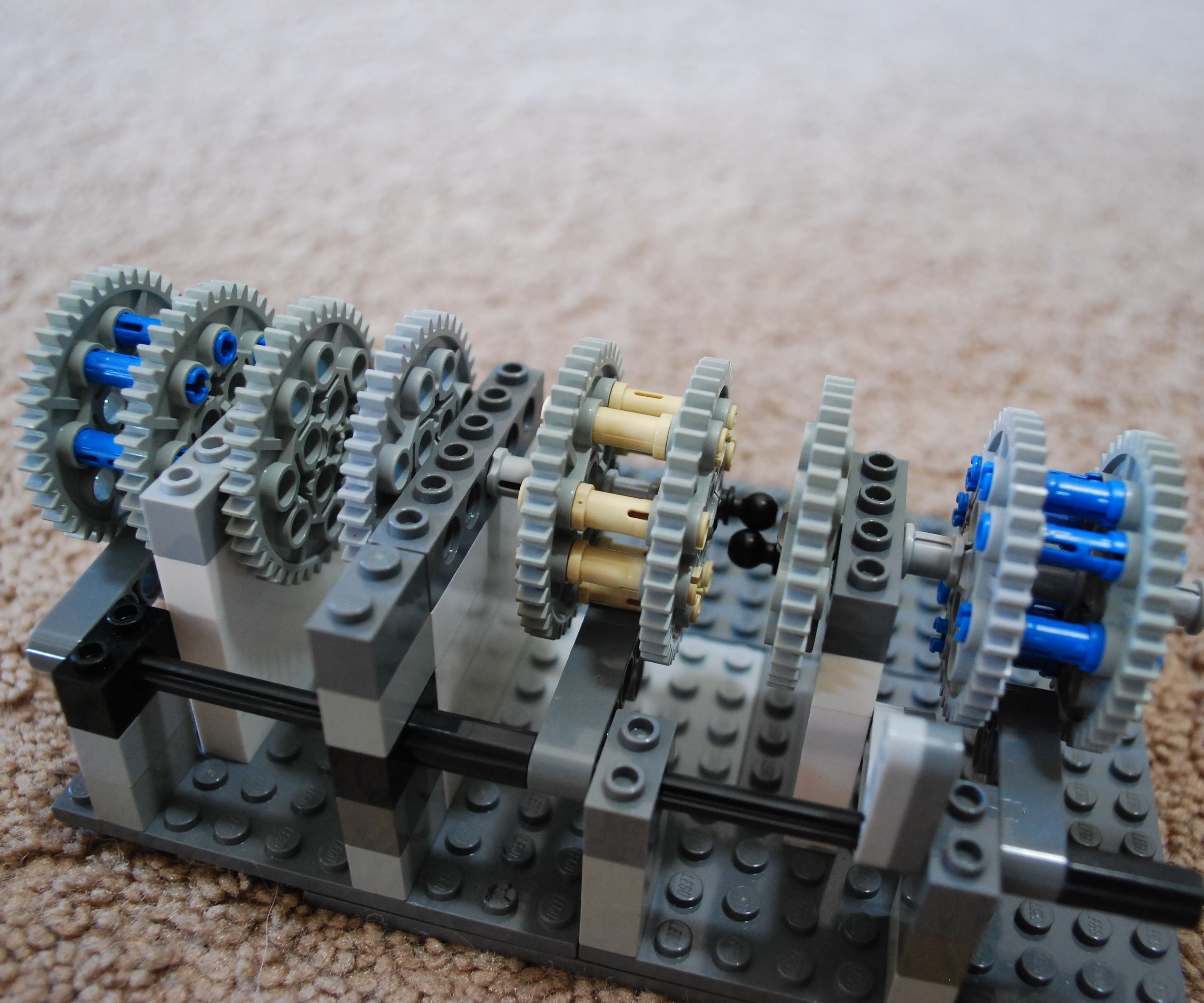 Lego Combination Lock Tutorial