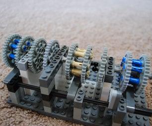 Lego Combination Lock Tutorial