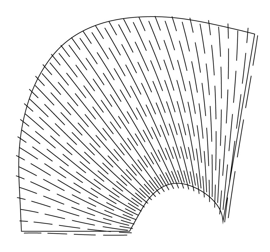 Bending Along a Curve