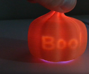 Carve and Print a Pumpkin With a Secret Message Using Fusion360