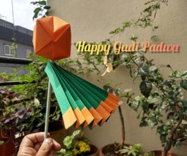 Origami Gudi Padwa Maharashtiyan New Year Decoration