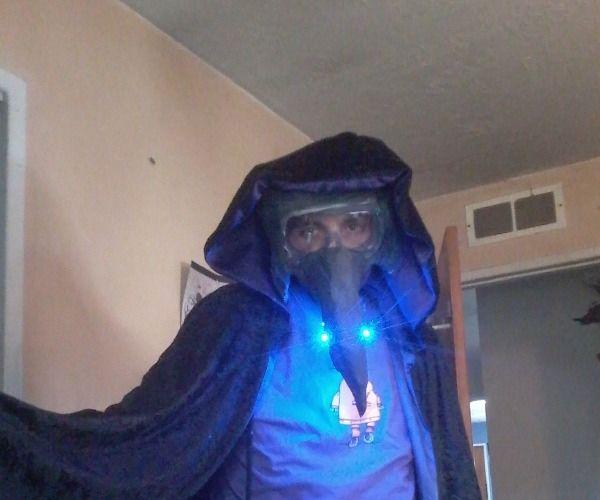 Modernized Victorian Plague Mask