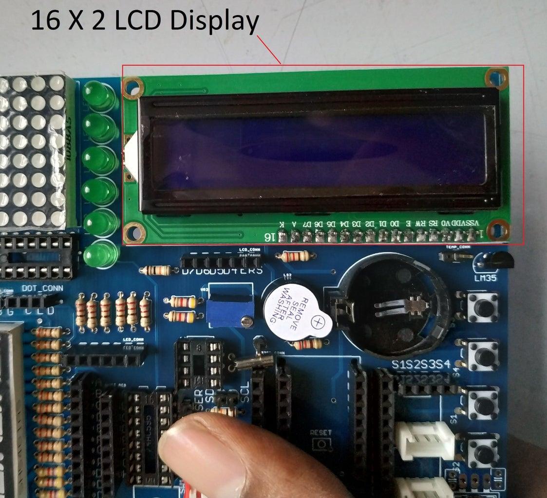 Soldering (Seven Segment, LCD & Dot Matric)