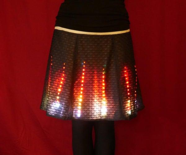 Neopixel LED Skirt (motion Triggered)