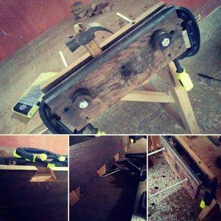 Wooden Vice