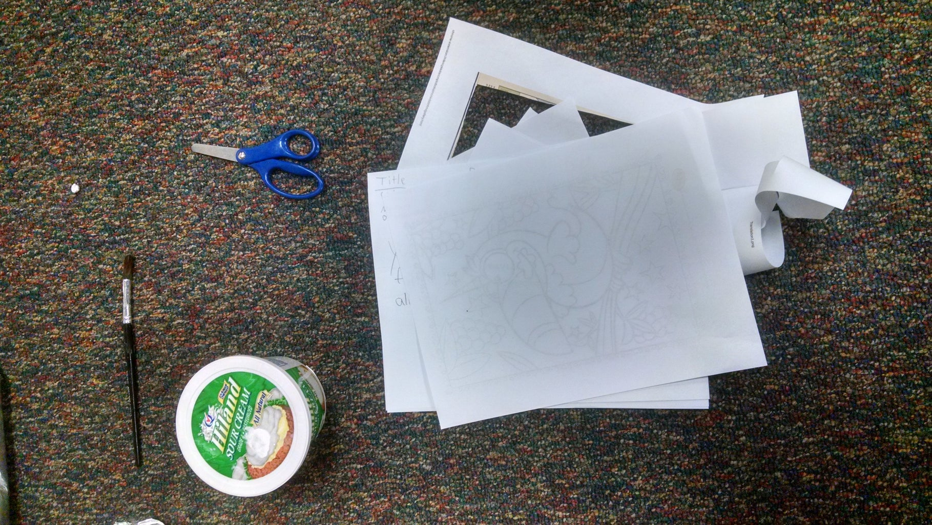 Paper Mache Phantom of the Opera Mask