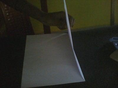 Folding A4 Sheet