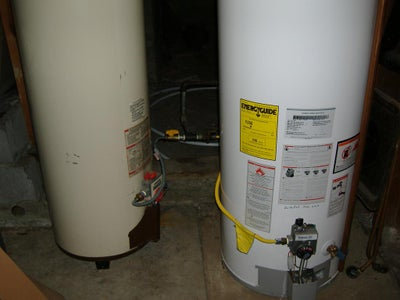 Using an Extra Hot Water Tank - Skip This Step