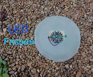 LED Ultimate Frisbee