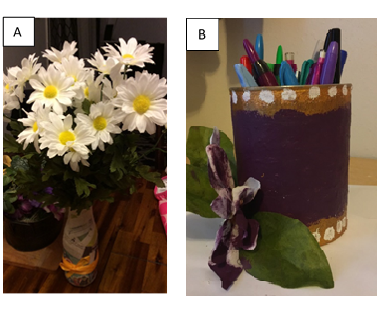 Re-Usable Paper Mache Container