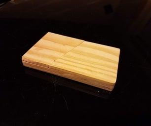 DIY Minimalist Wooden Wallet