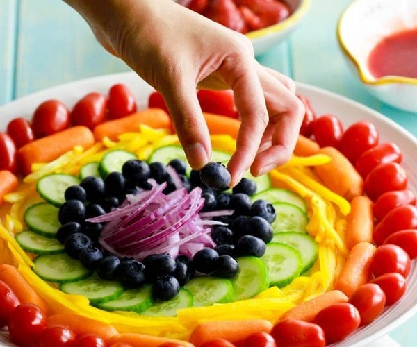 Summer Rainbow Salad