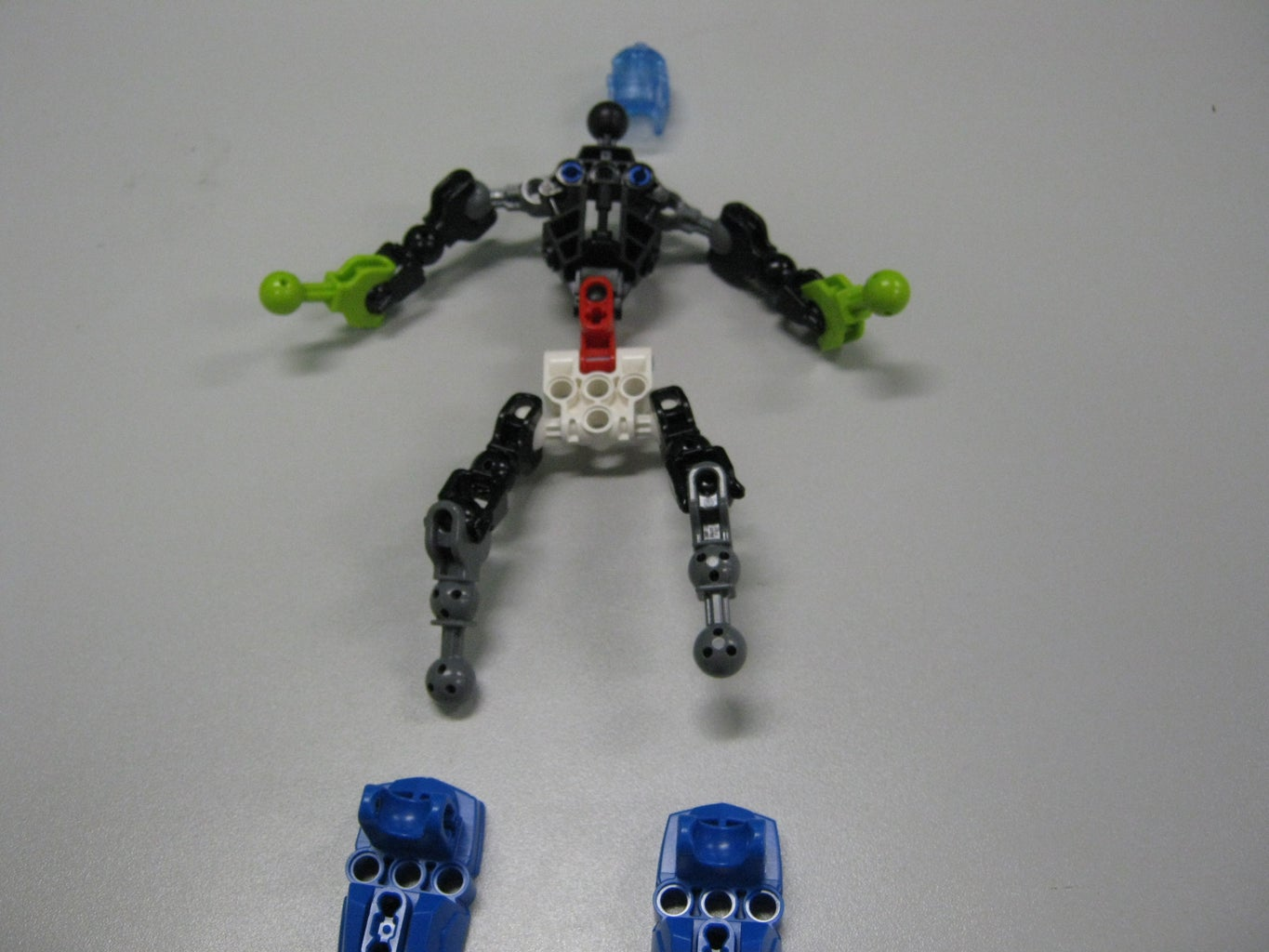 Assemble- Arms, Legs and Head
