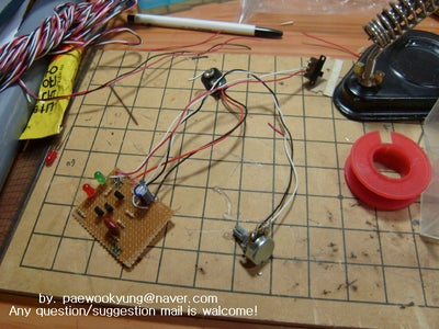 Solding the Circuit