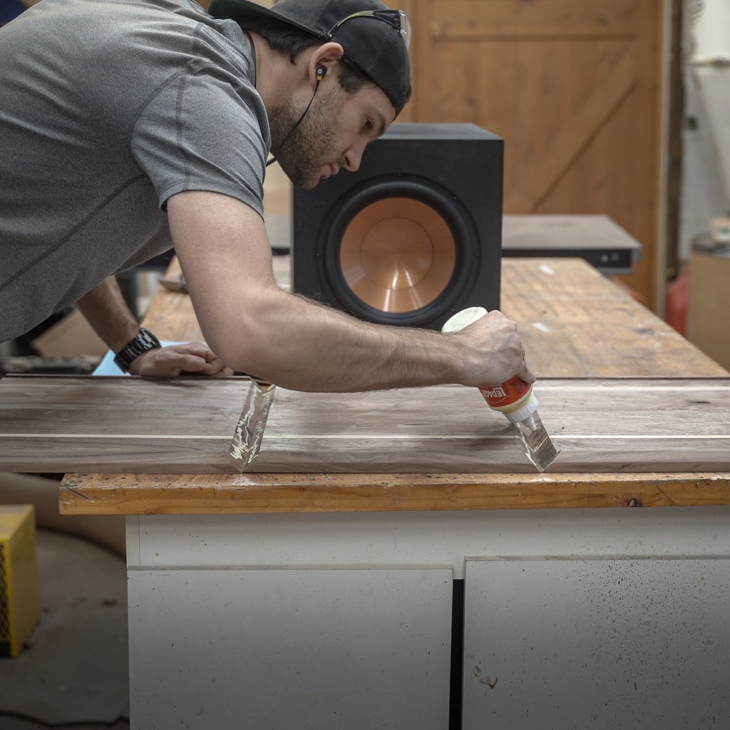 Wrapping the Sub-woofer in Walnut