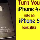 Evolution: Turn a iPhone 4/s to a 5 look-alike!
