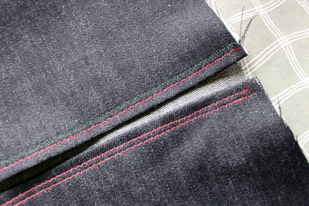 Fold Over and Iron