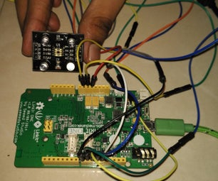Colour Detection Using TCS3200 Colour Sensor and LinkIt One Board