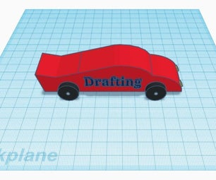 Basic Toy Car in TinkerCAD