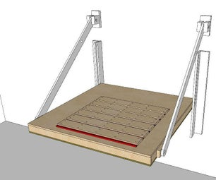 Horizontal/Vertical Convertible CNC Table