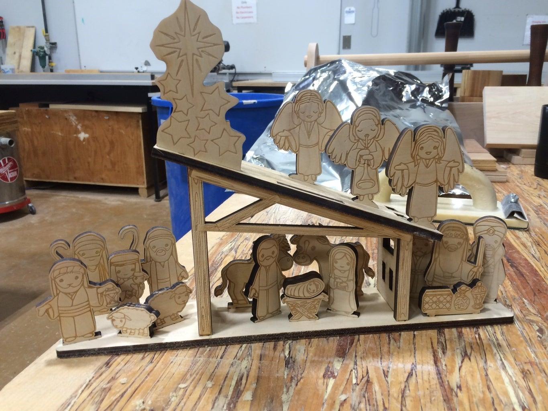 Nativity Scene Advent Calendar