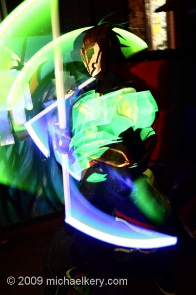 How to Make a Glowing Robot Suit.