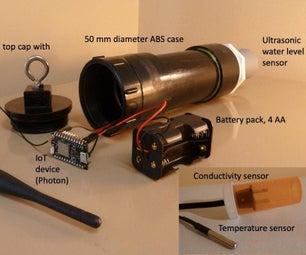 实时水温,电导率和水位仪表