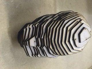 Laser Cut Skull