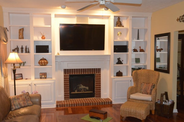 How To Build A Fireplace Bookcase 18 Steps With Pictures Instructables