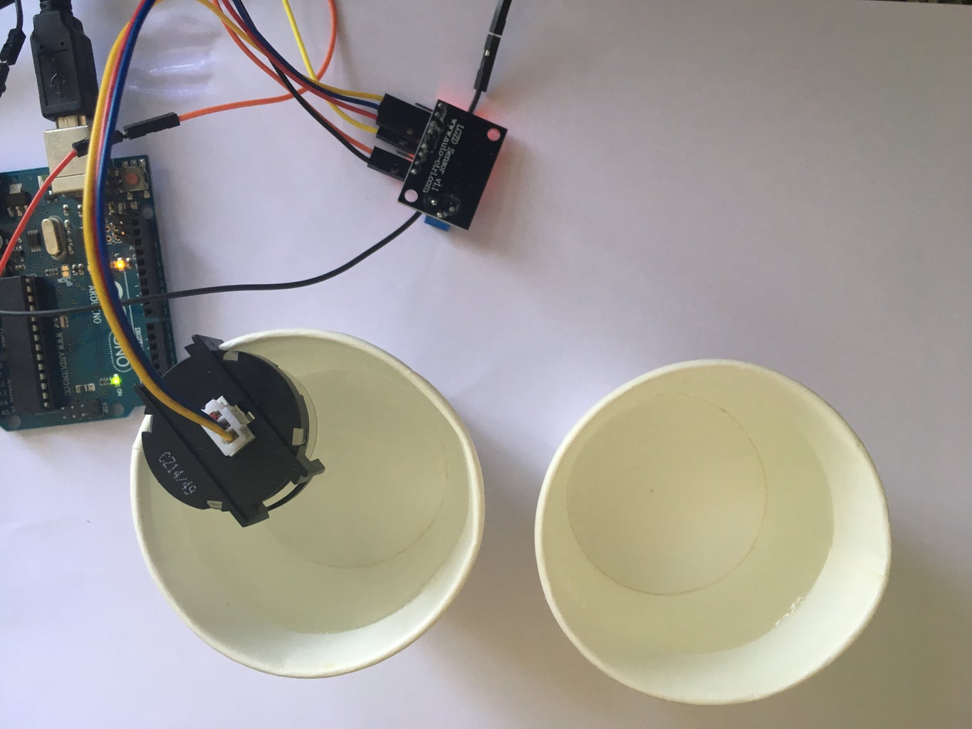 Setting Up the Turbidity Sensor and Display With Serial Plotter