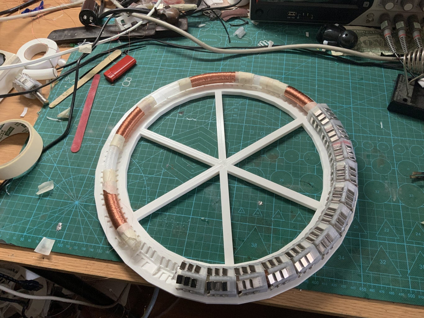 Reaching 345º and Testing the Coils