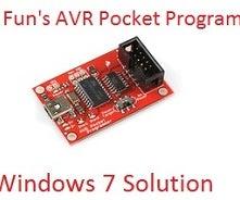 Spark Fun AVR Pocket Programmer With Windows 7