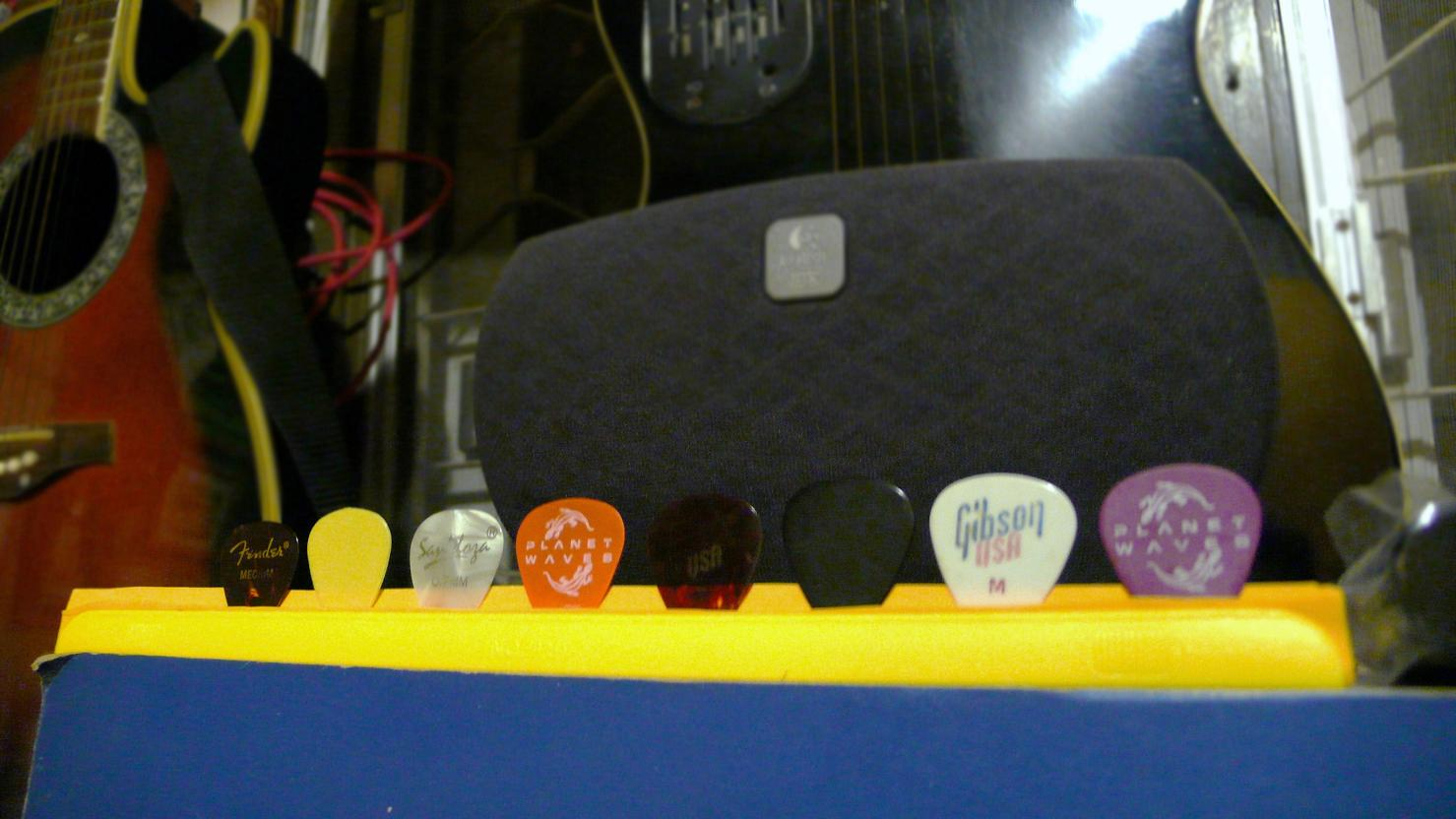 Guitar Pick Holder Just Like in Concerts