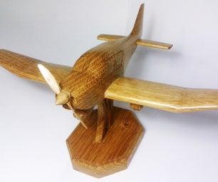 Wood Plane Robin DR-400 DIY