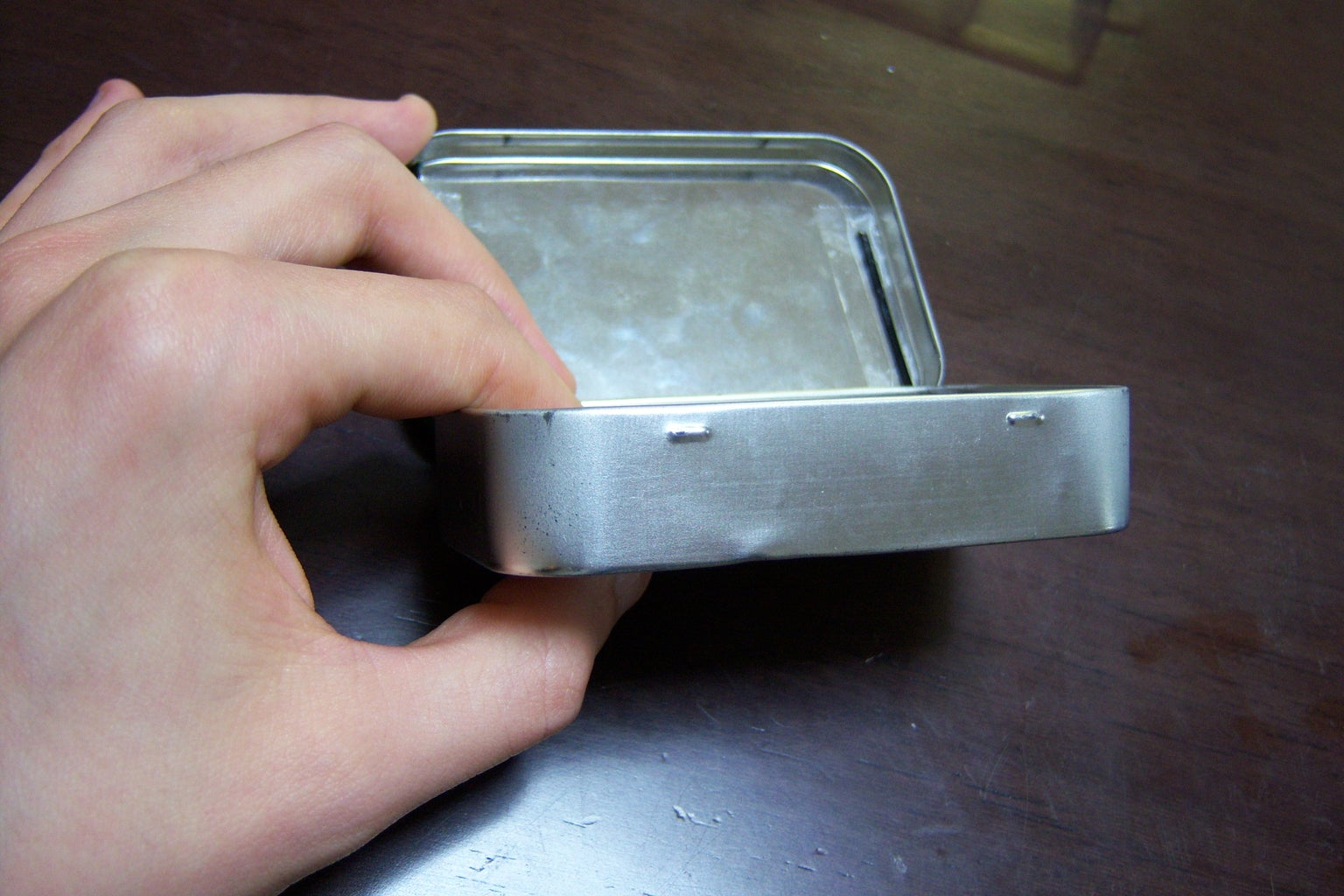 Prepping the Tin
