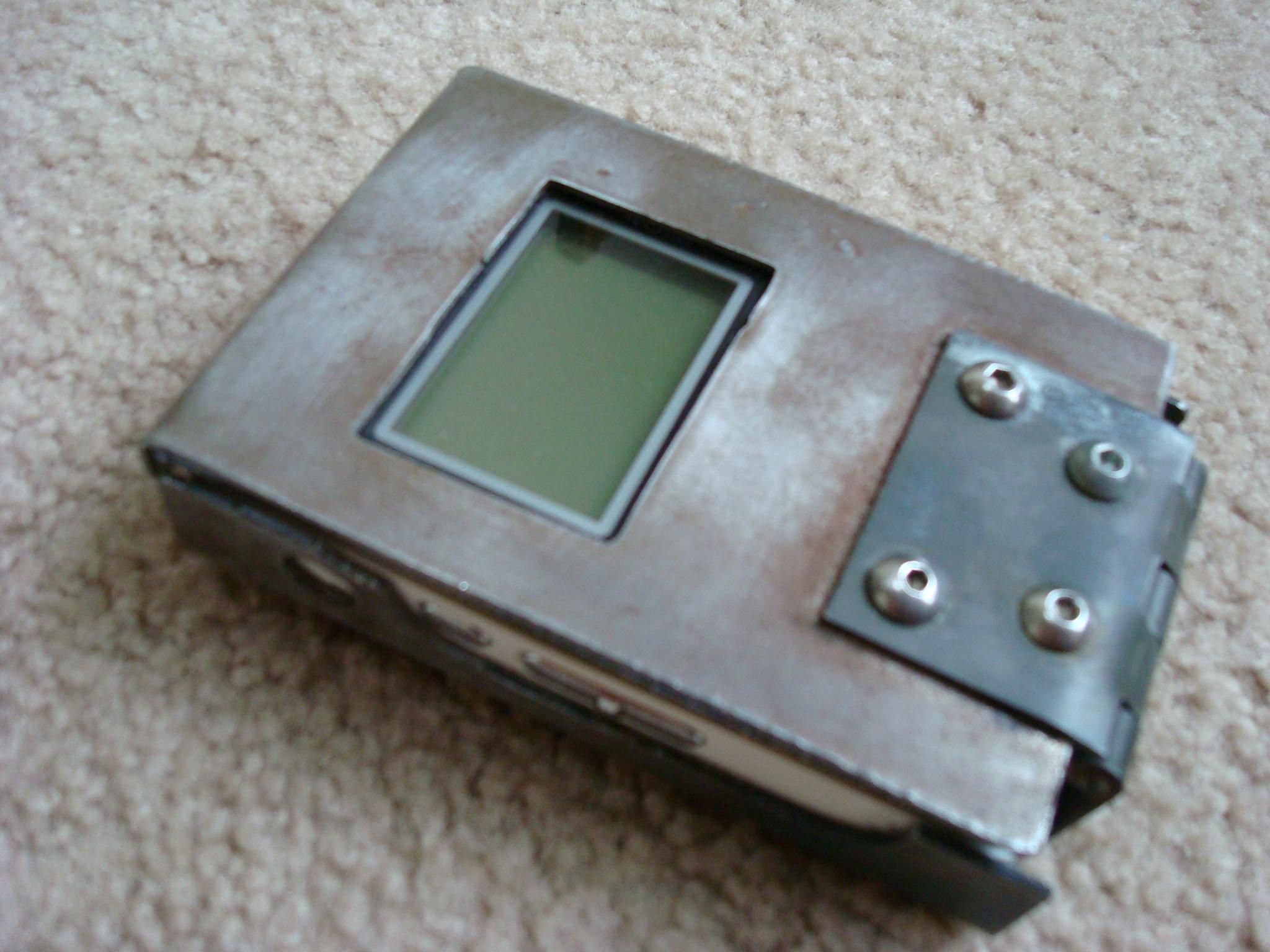 Steel MP3 Case