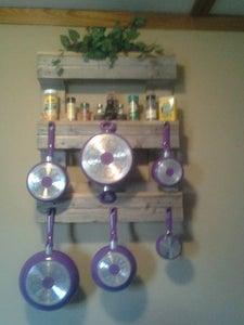 Pots and Pans Hanger