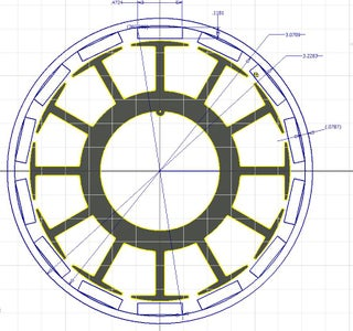 Magnet Layout and 2D Design