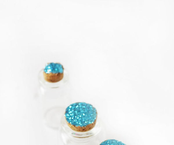 DIY Glitter Decoration