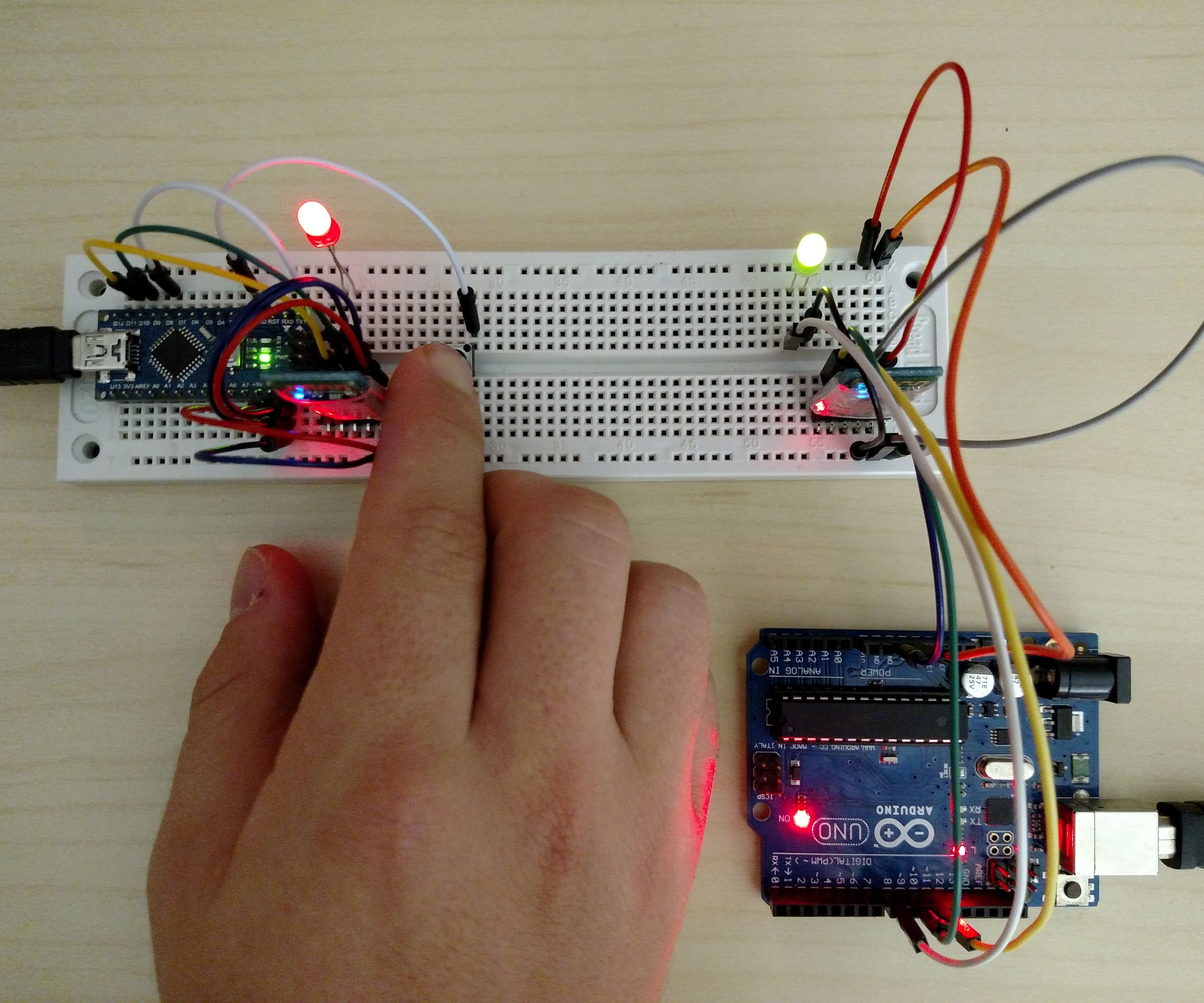 Arduino Bluetooth Master, and Slave Using Any HC-05 Modules
