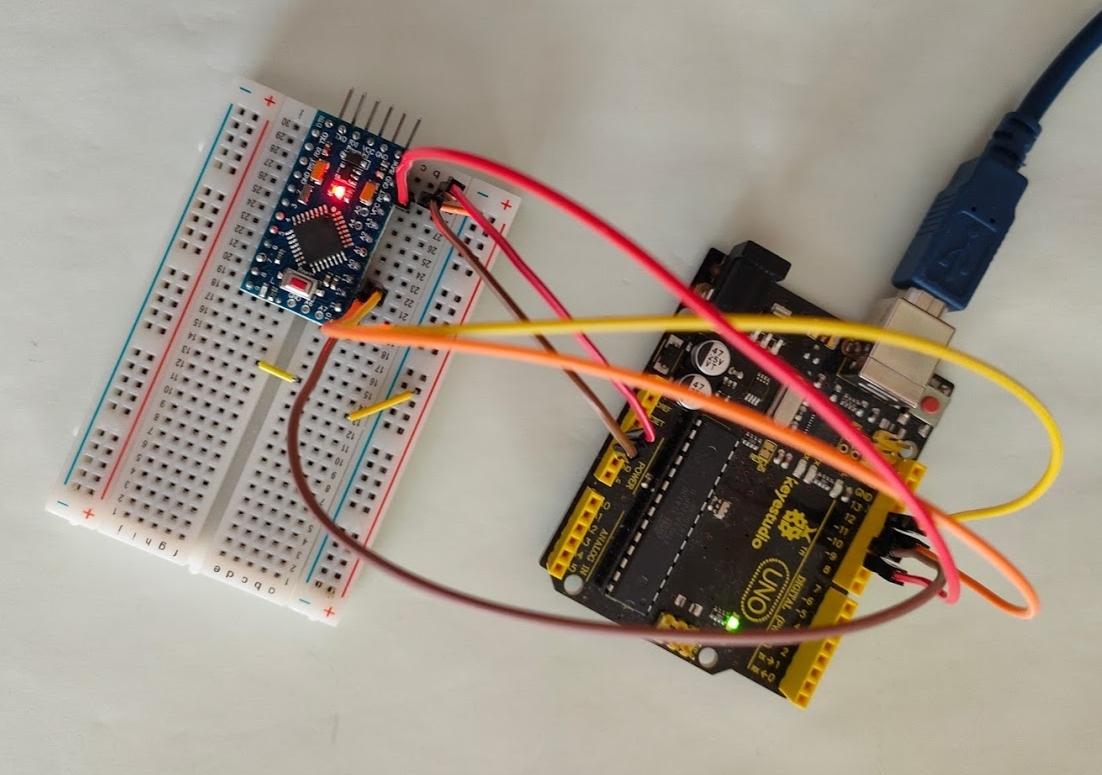 Burn a New Bootloader - Arduino Pro Mini