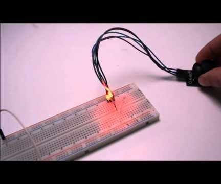 Joystick Modul Tester DIY Elektronik einfach selbst gemacht