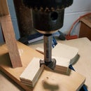Easily Repeatable Drill Press Fixtures