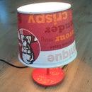 How to Make a KFC Lamp?